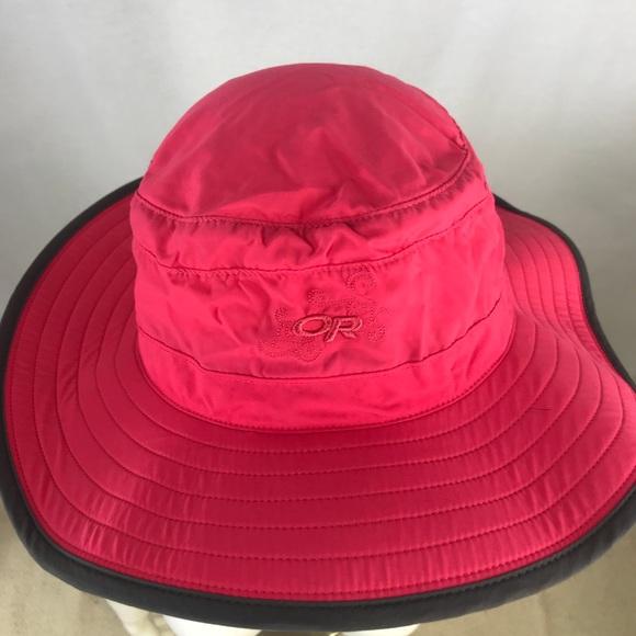 f88e7ba0 Outdoor Research Accessories | Nwot Solar Roller Sun Hat Upf50 ...
